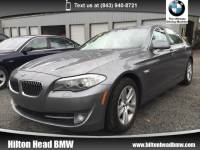 2013 BMW 528i Sedan 528i * CPO Warranty * Back-up Camera * Park Distan Sedan Rear-wheel Drive