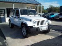 2015 Jeep Wrangler Unlimited 4x4 Sahara 4dr SUV