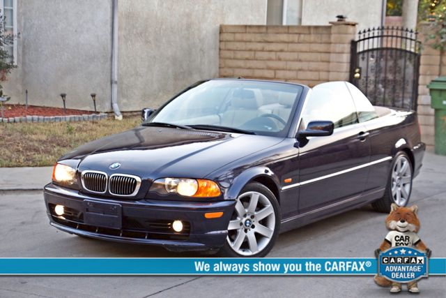 Photo 2001 BMW 325Ci CONVERTIBLE AUTO ONLY 62K ORIGINAL MLS LEATHER SERVICE RECORDS
