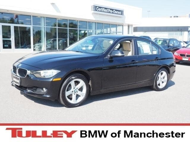 Photo 2014 Certified Used BMW 3 Series Sedan 328i xDrive Jet Black For Sale Manchester NH  Nashua  StockB171306A