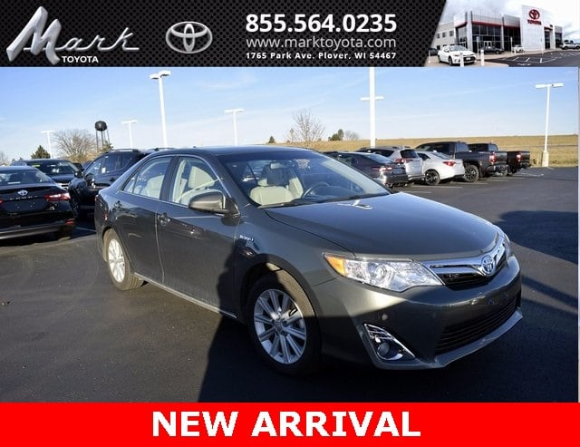 Photo Used 2012 Toyota Camry Hybrid XLE wEntune JBL Navigation, Heated Leather Sedan in Plover, WI