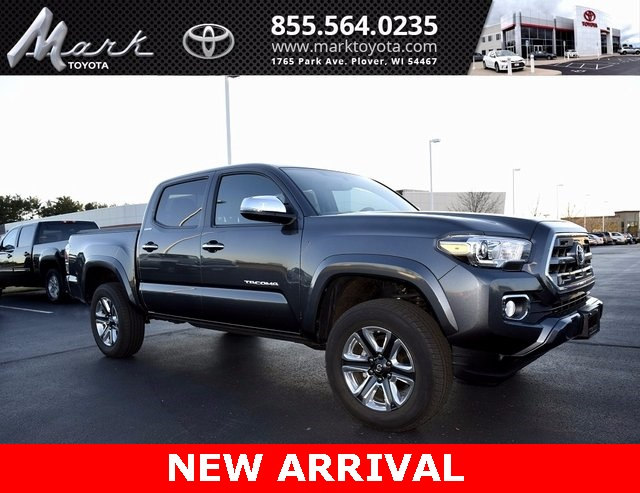Photo Used 2017 Toyota Tacoma Limited V6 Double Cab 4x4 wEntune JBL Premium Nav Truck in Plover, WI