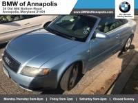 2004 Audi A4 1.8T Convertible Front-wheel Drive