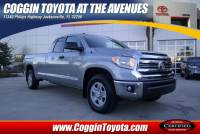 Pre-Owned 2017 Toyota Tundra SR 5.7L V8 w/FFV Truck Double Cab 4x2 in Jacksonville FL