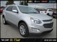Certified Pre-Owned 2017 Chevrolet Equinox LT Sport Utility For Sale Saint Clair, Michigan
