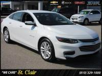 Certified Pre-Owned 2017 Chevrolet Malibu LT Car For Sale Saint Clair, Michigan