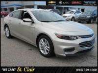 Certified Pre-Owned 2016 Chevrolet Malibu LT Car For Sale Saint Clair, Michigan