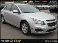 Certified Pre-Owned 2016 Chevrolet Cruze Limited LT Car For Sale Saint Clair, Michigan