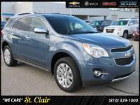 Used 2011 Chevrolet Equinox LT w/2LT Sport Utility For Sale St. Clair , Michigan