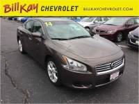 Pre-Owned 2014 Nissan Maxima FWD 3.5 S 4dr Sedan