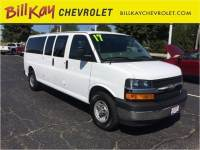 Certified Pre-Owned 2017 Chevrolet Express 3500 RWD LT 3500 3dr Extended Passenger Van