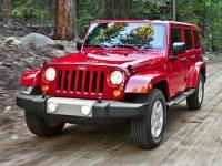 Used 2014 Jeep Wrangler Unlimited Sahara SUV for sale in Midland, MI