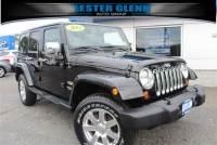2013 Jeep Wrangler Unlimited Sahara Convertible