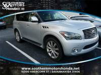PRE-OWNED 2014 INFINITI QX80 BASE RWD 4D SPORT UTILITY