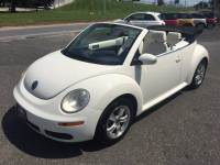 2007 Volkswagen New Beetle Triple White 2dr Convertible