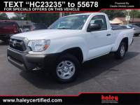 PRE-OWNED 2014 TOYOTA TACOMA BASE RWD TRUCK
