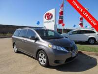 Certified 2015 Toyota Sienna LE Minivan/Van FWD For Sale