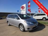 Certified 2016 Toyota Sienna LE Minivan/Van FWD For Sale