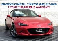 2016 Mazda MX-5 Miata Grand Touring Launch Edition Convertible in Chantilly