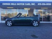 2005 MINI Cooper S 2dr Supercharged Convertible