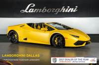 Used 2017 Lamborghini Huracan Spyder For Sale Richardson,TX | Stock# 18L0058A VIN: ZHWUR1ZF1HLA05703