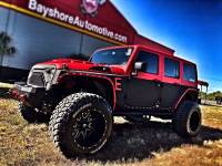Used 2017 Jeep Wrangler Unlimited RUBICON RHINO TWO-TONE LEATHER HADTOP