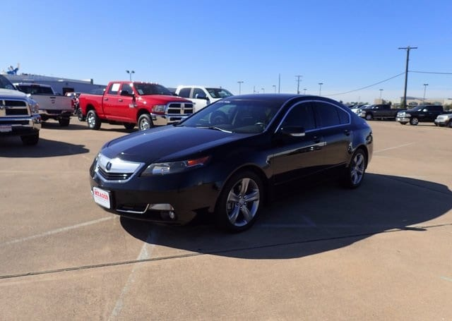 Photo Used 2013 Acura TL With Advanced Package Sedan For Sale in Fort Worth TX