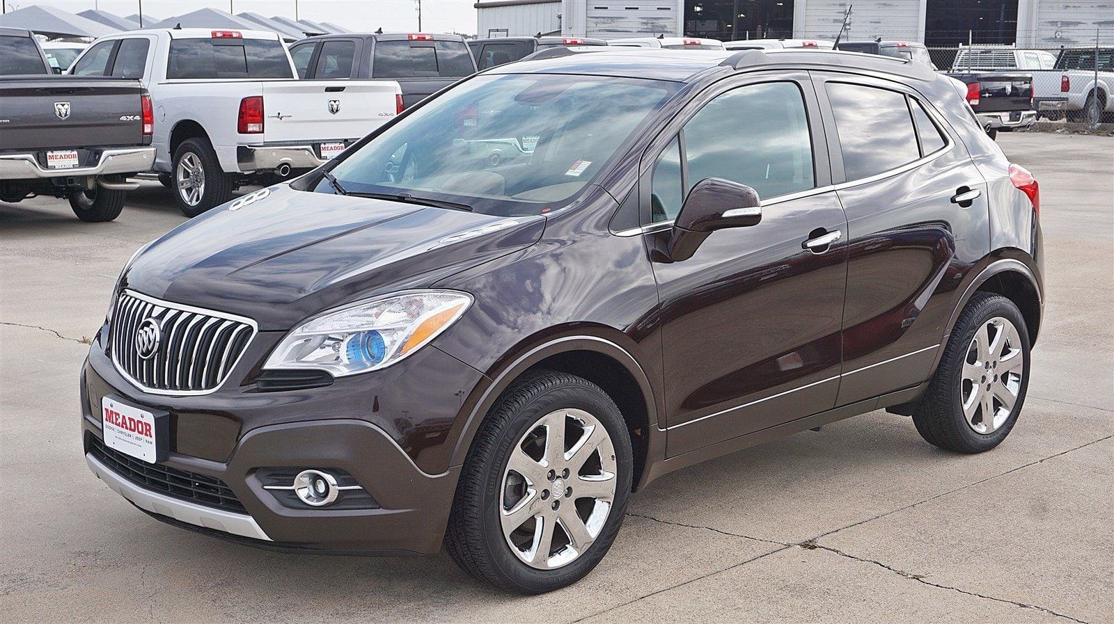 Photo Used 2014 Buick Encore Leather AWD Leather For Sale in Fort Worth TX