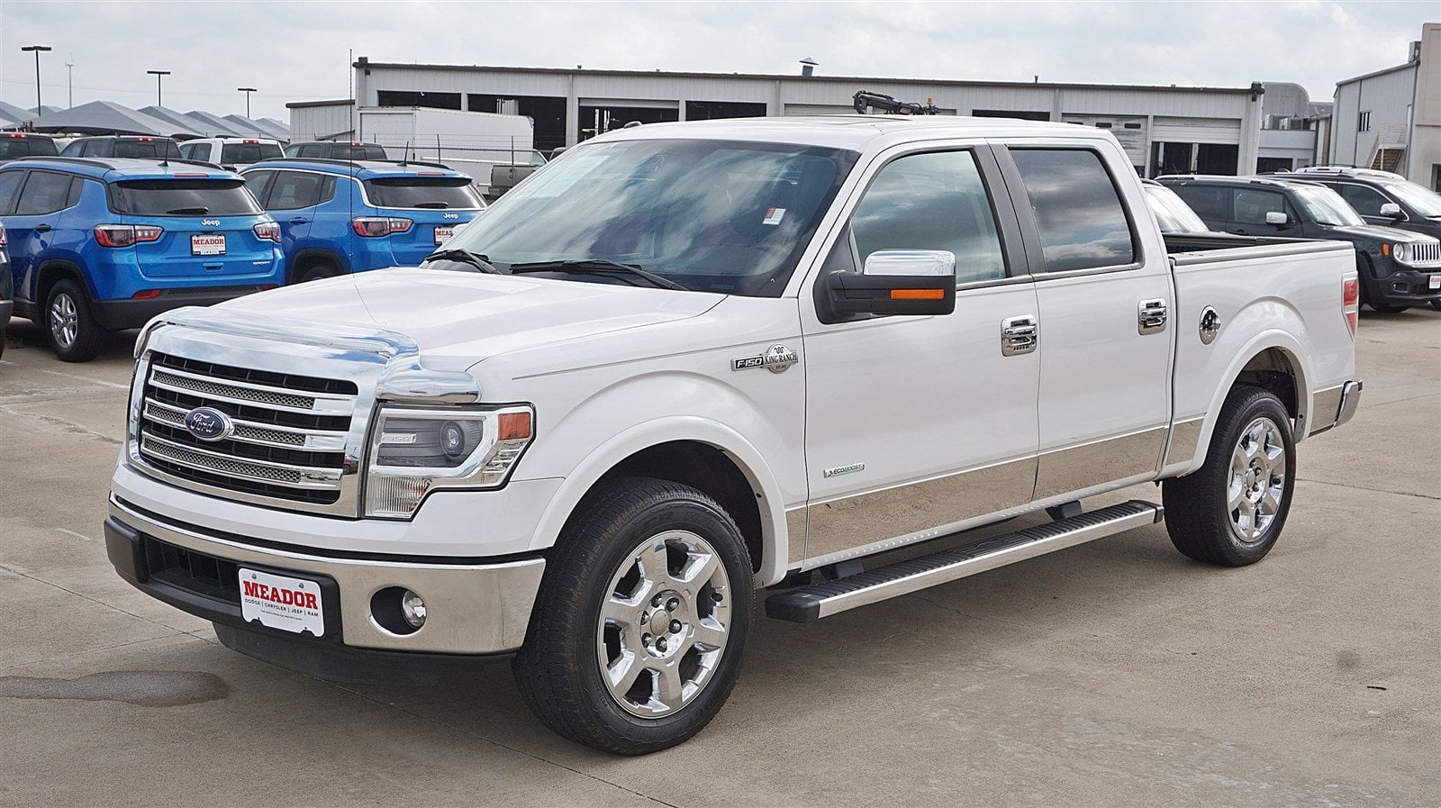 Photo Used 2014 Ford F-150 King Ranch 2WD SuperCrew 145 King Ranch For Sale in Fort Worth TX
