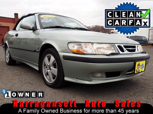 Photo 2002 Saab 9-3 Convertible 5-Speed Air Full Power Leather 1-Owner