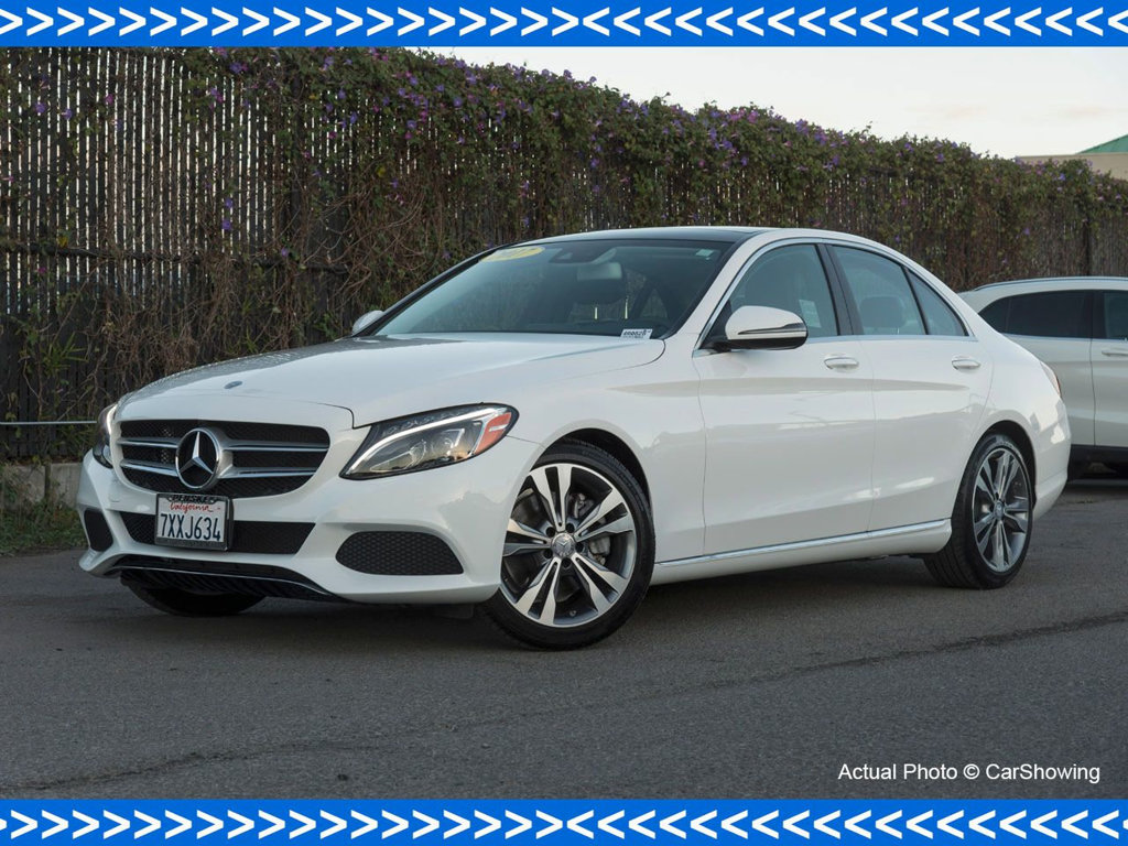 Photo Certified Pre-Owned 2017 Mercedes-Benz C-Class CERTIFIED 2017 MB C 300 Prem 3 w Significant Lease Savings Rear Wheel Drive Sedan