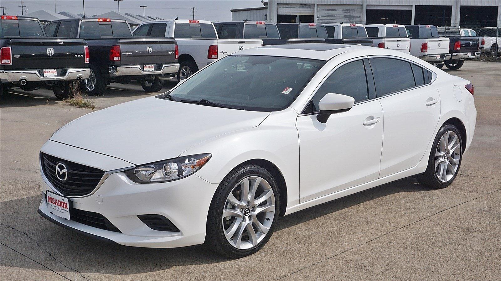 Photo Used 2016 Mazda Mazda6 i Touring Sedan For Sale in Fort Worth TX