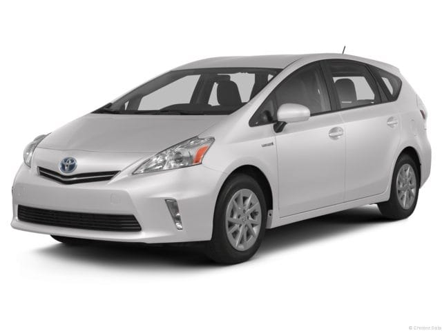 Photo Used 2013 Toyota Prius v Wagon For Sale in Fort Worth TX