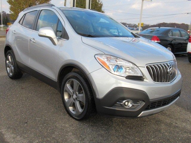 Photo Certified Pre-Owned 2014 Buick Encore Leather Sport Utility For Sale Saint Clair, Michigan