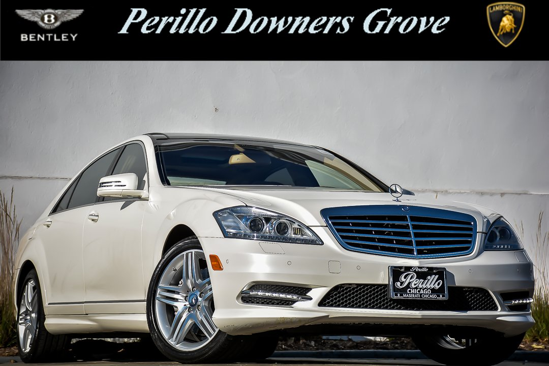 Photo Pre-Owned 2013 Mercedes-Benz S-Class S 550 AMG Sport with Navigation  AWD