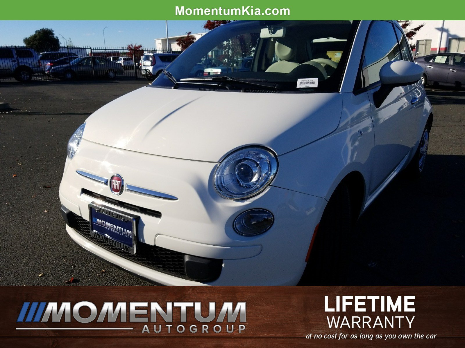 Photo Used 2013 FIAT 500 Pop Hatchback in Fairfield CA