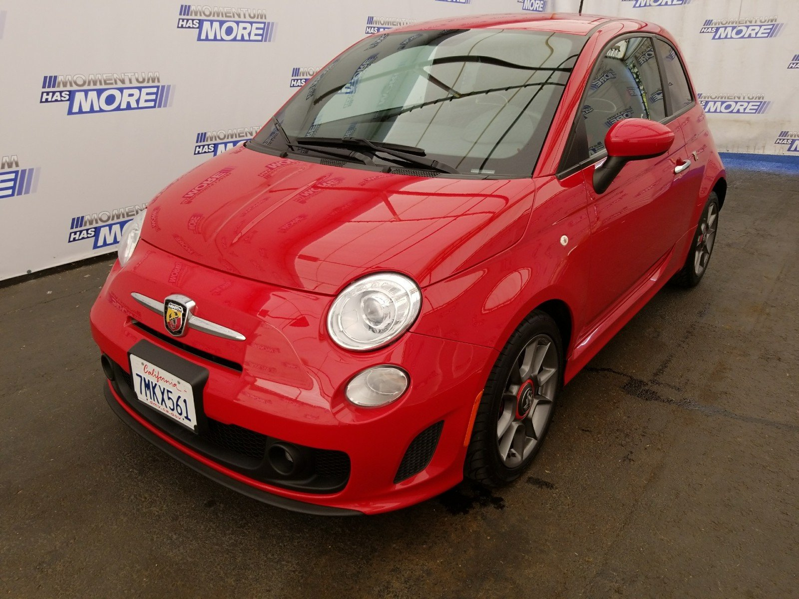 Photo Used 2015 FIAT 500 Abarth Hatchback in Fairfield CA