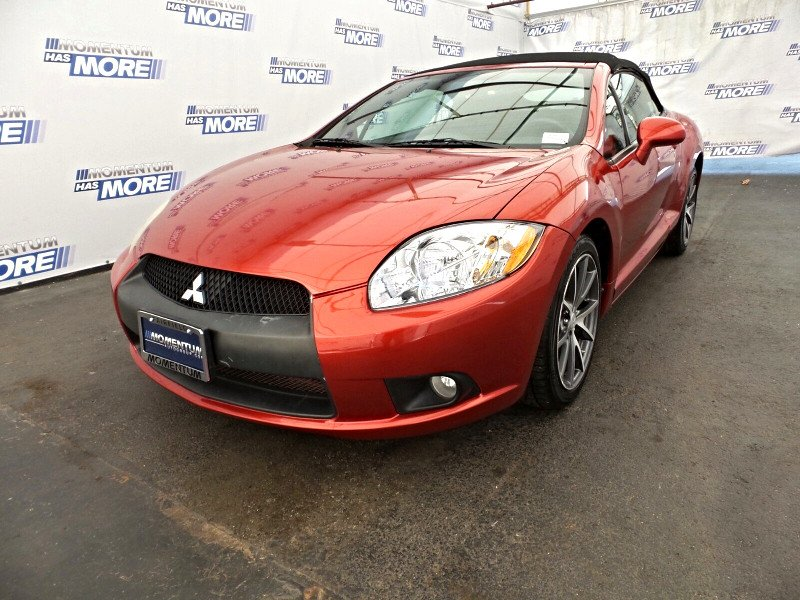 Photo Used 2012 Mitsubishi Eclipse Spyder GS Sport Convertible in Fairfield CA