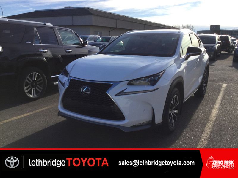 Photo Fresh Trade 2016 Lexus NX 200t TEXT 403-894-7645 for more info