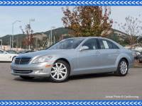 Pre-Owned 2007 Mercedes-Benz S-Class 2007 MB S 550 Rear Wheel Drive Sedan