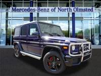Certified Pre-Owned 2017 Mercedes-Benz G-Class G 63 AMG® SUV AWD 4MATIC®