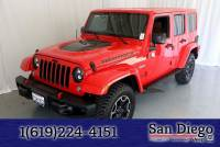 Certified 2016 Jeep Wrangler Unlimited Rubicon 4x4 SUV in San Diego