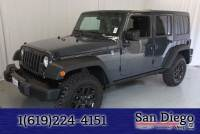 Certified 2017 Jeep Wrangler Unlimited Sport SUV in San Diego