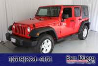 Certified 2016 Jeep Wrangler Unlimited Sport SUV in San Diego