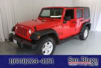 Certified 2015 Jeep Wrangler Unlimited Sport 4x4 SUV in San Diego