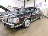 1986 Lincoln Continental Givenchy 4dr Sedan