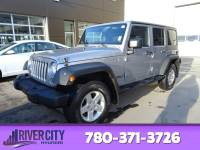 Pre-Owned 2014 Jeep Wrangler Unlimited UNLIMITED SPORT Accident Free, Sunroof, A/C,