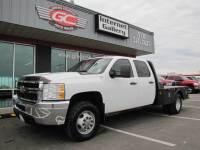 2012 Chevrolet 3500HD Crew Cab 4x4 Diesel Work Truck