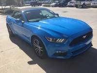 2017 Ford Mustang EcoBoost Premium Convertible I-4 cyl