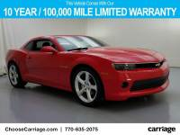 Pre-Owned 2015 Chevrolet Camaro LT w/2LT Rear Wheel Drive 2 Dr Coupe